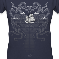 Design ~ Women's V-Neck Kraken