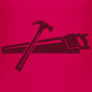 A hammer and a saw  Baby & Toddler Shirts - Toddler Premium T-Shirt