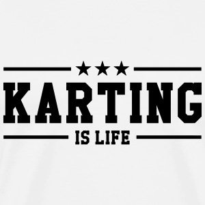 Kart Racing T-Shirts - Men's Premium T-Shirt
