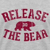 Design ~ Release the Bear - Women's - Grey V-Neck