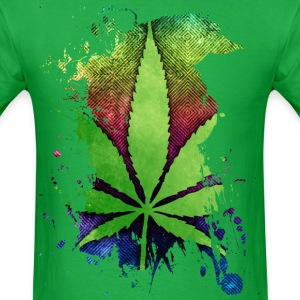 Pot Leaf T-Shirts - Men's T-Shirt