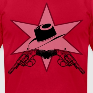 Sheriff  T-Shirts - Men's T-Shirt by American Apparel