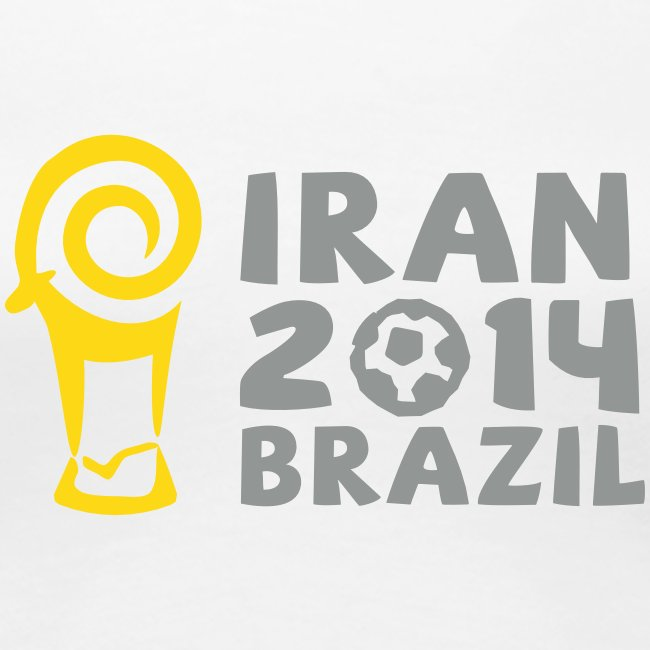 Iran 2014 Brazil Women's Tee