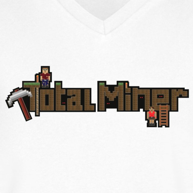 Total Miner Logo V-Neck T-Shirt