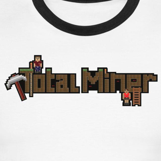 Total Miner Logo Ringer T-Shirt