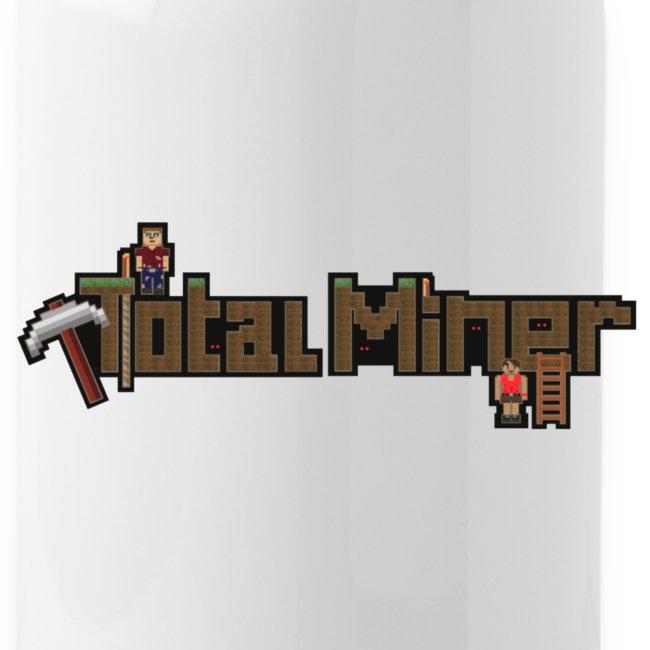 Total Miner Logo Water Bottle