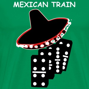 Mexican Train T-Shirts - Men's Premium T-Shirt
