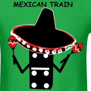 Mexican Train Sombrero T-Shirts - Men's T-Shirt