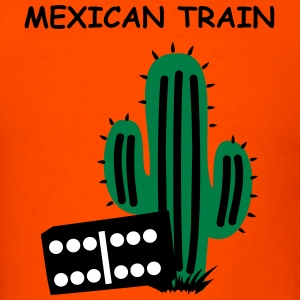 Mexican Train with Cactus T-Shirts - Men's T-Shirt