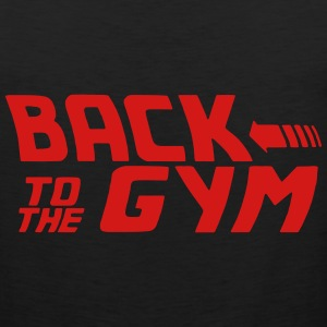 BACK TO THE GYM Men - Men's Premium Tank
