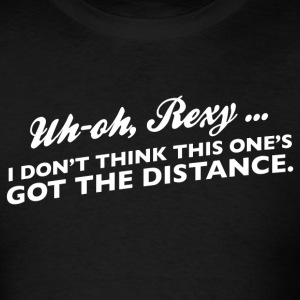 Uh oh, Rexy - Men's T-Shirt