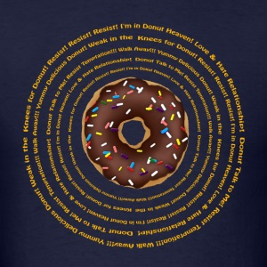 Hypnotic Donut 2 (Dk Ground) T-Shirts - Men's T-Shirt