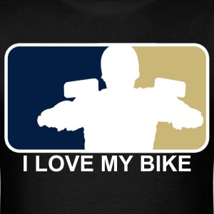 I Love My Bike! - Men's T-Shirt