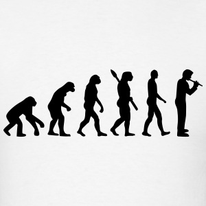 Evolution Flute T-Shirts - Men's T-Shirt