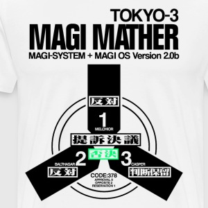 MAGI MATHER (WHITE) - Men's Premium T-Shirt