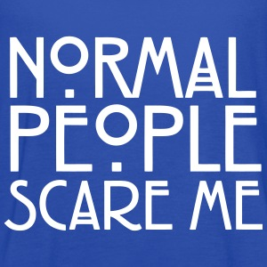 Normal People Scare Me Tanks - Women's Flowy Tank Top by Bella