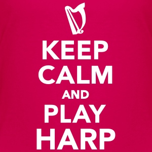 Keep calm and Play Harp Kids' Shirts - Kids' Premium T-Shirt