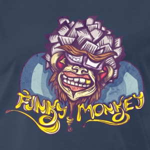 Premium T-Shirt - Funky Monkey - Men's Premium T-Shirt