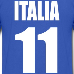 ITALIA T-Shirts - Men's V-Neck T-Shirt by Canvas