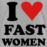 Design ~ Heart Fast Women / Tee  / Toddler