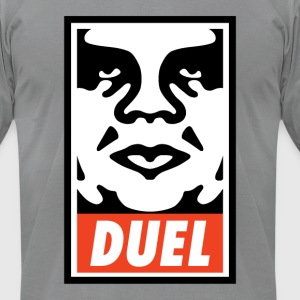 Duel Icon Face - Men's T-Shirt by American Apparel
