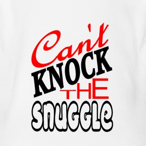 Can't Knock The Snuggle - Short Sleeve Baby Bodysuit