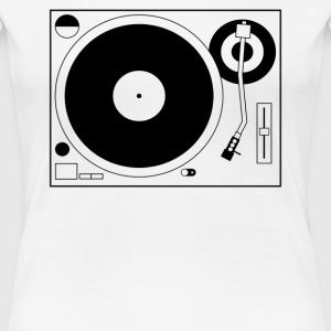 Turntable Tee - Women's Premium T-Shirt