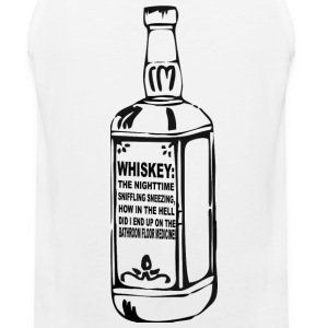 Whiskey Warning Men's Tank - Men's Premium Tank
