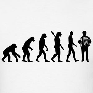Evolution Accordion T-Shirts - Men's T-Shirt