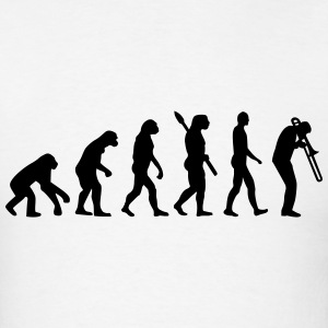 Evolution Trombone T-Shirts - Men's T-Shirt