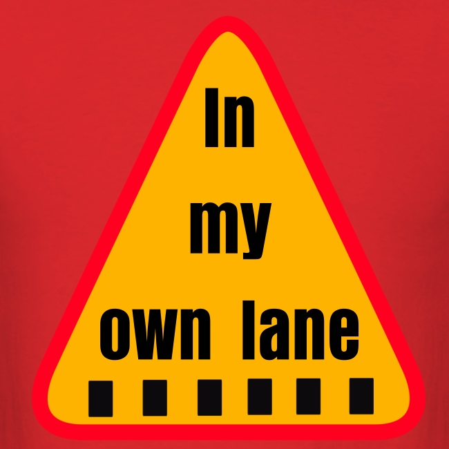 IN MY OWN LANE BY RONALD RENEE