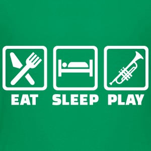 Eat Sleep Trumpet Kids' Shirts - Kids' Premium T-Shirt