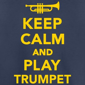 Keep calm and Play trumpet Kids' Shirts - Kids' Premium T-Shirt