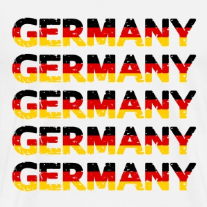 Grunge Germany Team T-Shirts - Men's Premium T-Shirt