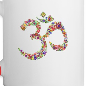 Om Heaven  Mugs & Drinkware - Contrast Coffee Mug