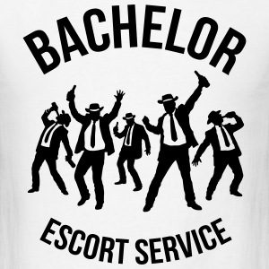 Bachelor Escort Service (Stag Party) T-Shirts - Men's T-Shirt