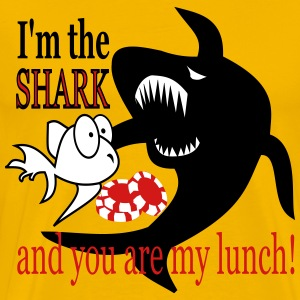 Shark and lunch T-Shirts - Men's Premium T-Shirt