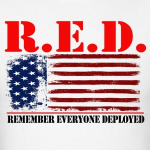 R.E.D US by GF APPAREL T-Shirts - Men's T-Shirt