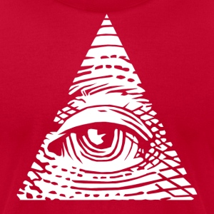 Eye of Providence T-Shirts - Men's T-Shirt by American Apparel