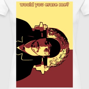 Would you erase me? Women's T-Shirts - Women's Premium T-Shirt