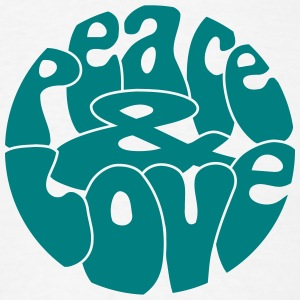 Peace Love_V5 T-Shirts - Men's T-Shirt