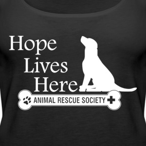 Hope Lives Here Woman's Tank - Women's Premium Tank Top