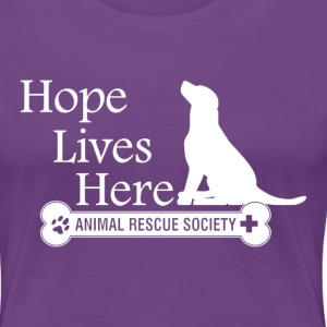 Hope Lives Here Woman's Tee - Women's Premium T-Shirt