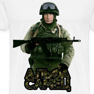 Putin the Alpha Male - Men's Premium T-Shirt