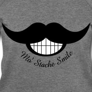 Mustache Smile - Women's Wideneck Sweatshirt