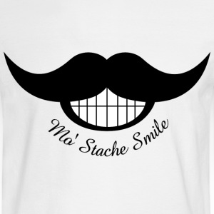 Mustache Smile - Men's Long Sleeve T-Shirt