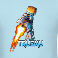 Design ~ Men's T-Shirt: Jetpack TrueMU!