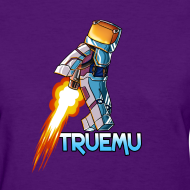 Design ~ Women's T-Shirt: Jetpack TrueMU!