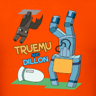 Design ~ Men's T-Shirt: TrueMU and Dillon!