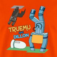 Design ~ Men's T-Shirt: TrueMU and Dillon!